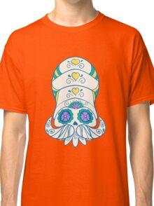 Omanyte Popmuerto | Pokemon & Day of The Dead Mashup Classic T-Shirt
