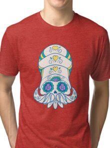 Omanyte Popmuerto | Pokemon & Day of The Dead Mashup Tri-blend T-Shirt