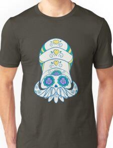 Omanyte Popmuerto   Pokemon & Day of The Dead Mashup Unisex T-Shirt