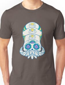 Omanyte Popmuerto | Pokemon & Day of The Dead Mashup Unisex T-Shirt