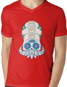 Omanyte Popmuerto | Pokemon & Day of The Dead Mashup Mens V-Neck T-Shirt