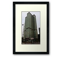 Warren Street Architecture Framed Print