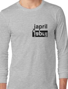 JACKSON AND APRIL - JAPRIL - GREY'S ANATOMY Long Sleeve T-Shirt