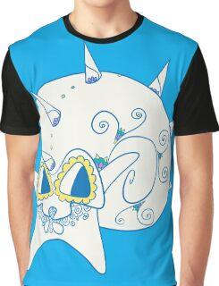 Omastar Popmuerto | Pokemon & Day of The Dead Mashup Graphic T-Shirt