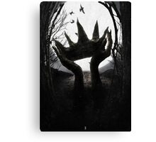 Dethroned Canvas Print
