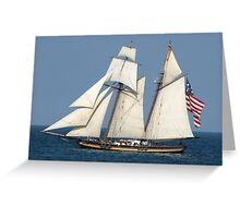 Pride of Baltimore II Greeting Card