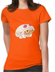 Kabuto Popmuerto | Pokemon & Day of The Dead Mashup Womens Fitted T-Shirt