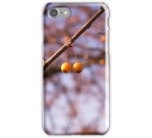 Two Berries iPhone Case/Skin
