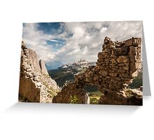 A War with a View Greeting Card