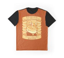 Kitty Biscuits - Brown Graphic T-Shirt