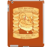 Kitty Biscuits - Brown iPad Case/Skin