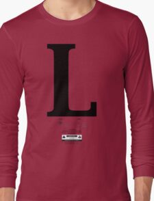 Left & Right Series `L´ Long Sleeve T-Shirt