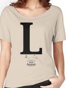 Left & Right Series `L´ Women's Relaxed Fit T-Shirt