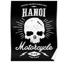 Hanoi Motorcycle Club | Black Poster