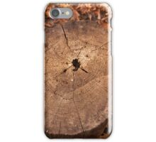 Tree Stump iPhone Case/Skin