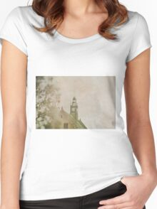 Clock Tower Women's Fitted Scoop T-Shirt
