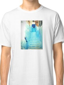 Staircase in Blue Classic T-Shirt