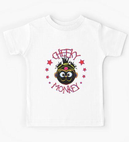 Hut Monkey (Cheeky Monkey) Kids Tee