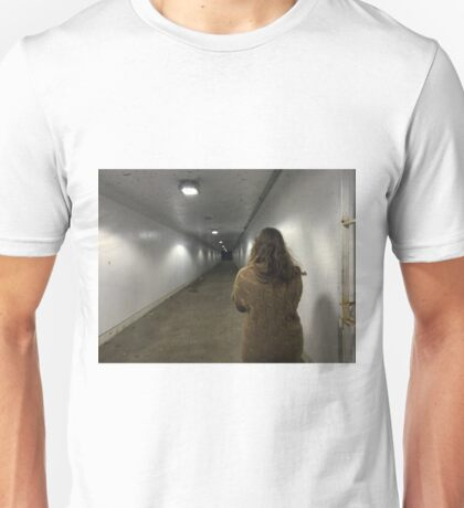 Dark at the end of the tunnel Unisex T-Shirt
