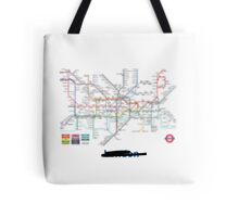 Secret London Tote Bag