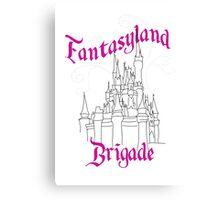 Fantasyland Brigade Canvas Print