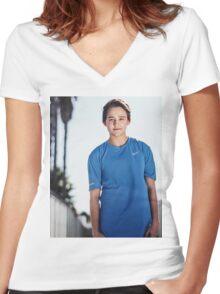 Justin Blake Women's Fitted V-Neck T-Shirt