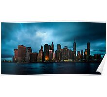 Manhattan At Dawn Poster