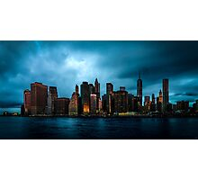 Manhattan At Dawn Photographic Print