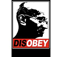 DISOBEY Photographic Print