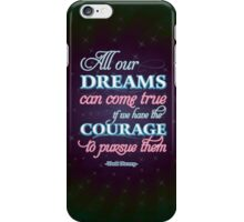 Dreams Come True iPhone Case/Skin