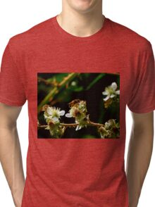Macro Bee Tri-blend T-Shirt