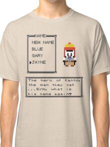 The Hero of Kanto Classic T-Shirt