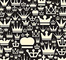 Crown a background by Aleksander1