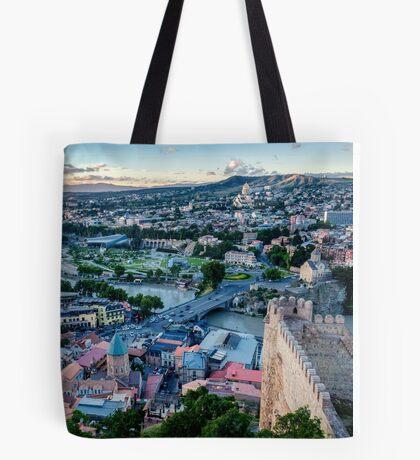 Tbilissi, Géorgie Tote Bag