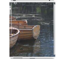 Row Boats iPad Case/Skin