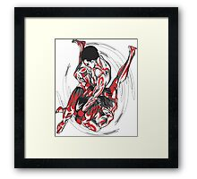 Jiu-Jitsu Sparring  Framed Print