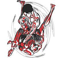 Jiu-Jitsu Sparring  Photographic Print