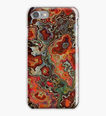 Blood Geode iPhone Case/Skin