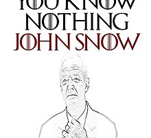 You know nothing John Snow! by jauntee
