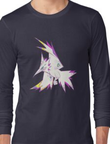 Zapdos Popmuerto | Pokemon & Day of The Dead Mashup Long Sleeve T-Shirt