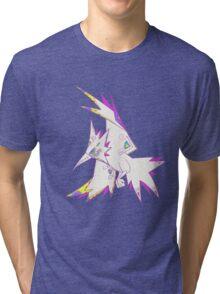 Zapdos Popmuerto | Pokemon & Day of The Dead Mashup Tri-blend T-Shirt