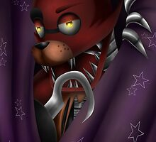 Foxy Five Nights at Freddy's by ShinyhunterF