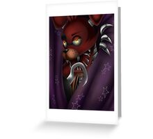 Foxy Five Nights at Freddy's Greeting Card