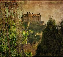 Hogwarts Edinburgh Castle Edinburgh Scotland by Lois  Bryan