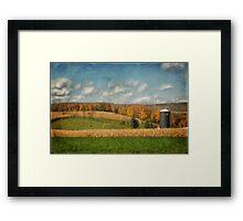 Windmills On The Horizon Framed Print