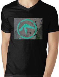 Aphex Twin / Syro Graffiti Mens V-Neck T-Shirt
