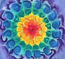 Joyful Chakra by Chris Kfoury