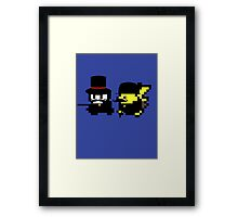 Pokemon Gentlemen Framed Print