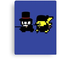 Pokemon Gentlemen Canvas Print