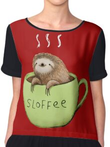 Sloffee Chiffon Top